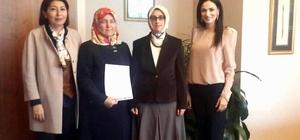 AK Parti Efeler, Karpuzlu ve Buharkent kadın kolları başkanları atandı