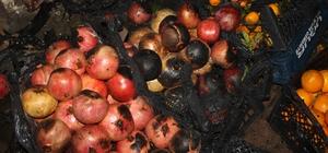 Osmaniye'de manav dükkanında yangın