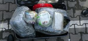 Sakarya'da 55 kilogram esrar ele geçirildi