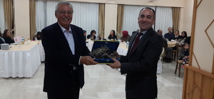 Kaş'ta Başsavcı Duman ile Hakim Dost'a veda yemeği