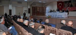 Karaman'da muhtarlar toplantısı