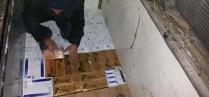 TIR dorsesine zulalanmış 53 bin paket kaçak sigara yakalandı