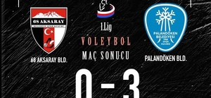 Palandöken Belediyespor'un yükselişi devam ediyor: 3-0