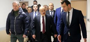Vali Dağlı Düzce Atatürk Devlet Hastanesini inceledi