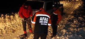 Hakkari'de yaylada mahsur kalan iki kardeş kurtarıldı