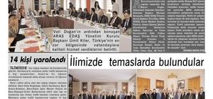 Kars'ta bir ilk, 13 gazete birleşti
