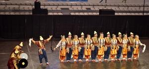 Halk dansları yarışması Kepez'de yapıldı
