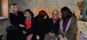 Adana Valisi Demirtaş'ın eşinden taziye ziyareti