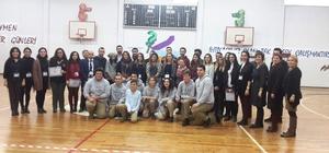 Düzce Üniversitesi Kocaeli'de öğrencilerle buluştu