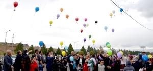 Engelliler umuda balon bıraktı