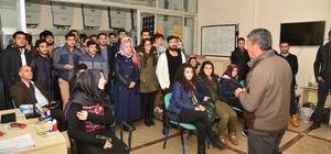 Batman Üniversitesi öğrencileri Güneş Evi'ni ziyaret etti