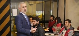 Başkan Kılıç gençleri proje üretmeye çağırdı