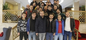 Başkan Duymuş, Vezirhanspor oyuncularını ödüllendirdi