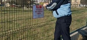 Kapaklı Zabıta Müdürlüğü'nden afiş uyarısı