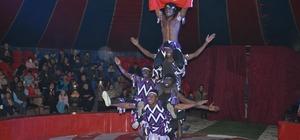 Arena Sirki Alanya'da gösteri sundu