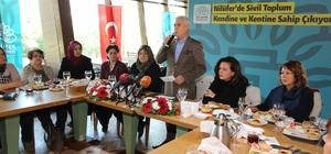 Nilüfer'den kadın derneklerine destek