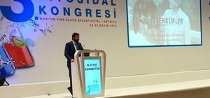 Kocaeli Büyükşehir, Biyosidal Kongresi'nde sunum yaptı