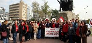 Antalya'da CHP'li kadınlar seçme ve seçilme haklarını kutladı