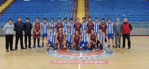 Okul Sporları Basketbol Genç Erkekler müsabakaları başladı