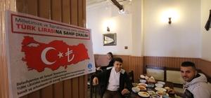 Döviz bozdurana Beyşehir Belediyesi sosyal tesislerinde içecek bedava