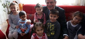 Başkan Karaosmanoğlu,''Sevgi evleri devletimizin şefkatli yuvalarıdır''