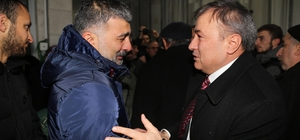 AK Parti Rize İl Başkan Yardımcısı Karavin, son yolculuğuna uğurlandı