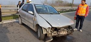 Sapanca'da trafik kazası: 2 yaralı