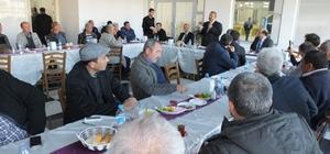 Burhaniye'de Başkan Uysal, derdini muhtarları açtı