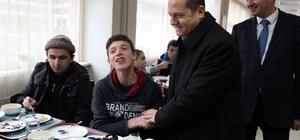 ODÜ, engelli öğrencileri ağırladı