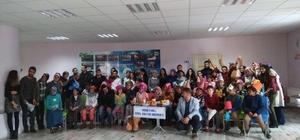 Erzurum'da özel çocuklara eğlence
