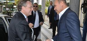 Danimarka'nın Ankara Büyükelçisi Olling Adana'da
