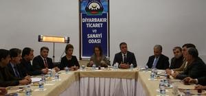 Diyarbakır'da 'Sur olaylarının ekonomiye etkileri' toplantısı