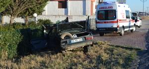 Lüleburgaz'da trafik kazası: 2 yaralı