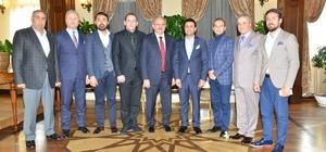 OTSAD yöneticilerinden Vali Karaloğlu'na ziyaret