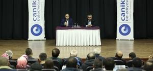 Gazeteciler Canik'te 15 Temmuz'u anlattı