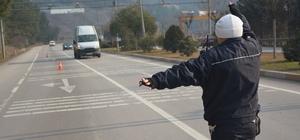 Karabük'te kış lastiği uygulaması