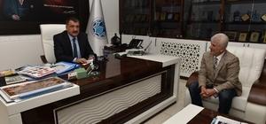 Ege Bölgesi Malatyalılar Derneği Başkanı Ateş'ten Gürkan'a ziyaret