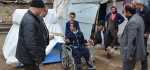 Tekerlekli sandalye Umut'a umut oldu