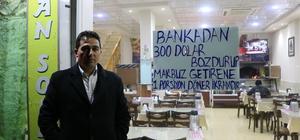 Erzurum esnafı Türk lirasına sahip çıktı