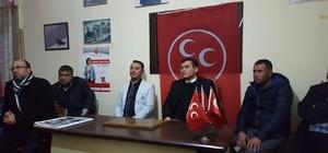 MHP Sultanhisar İlçe yönetimi ilk toplantısını yaptı