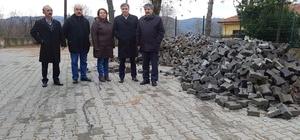Başkanı Aydın'ın okul ziyareti