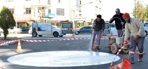 Muratpaşa'dan Savaş Caddesine asfalt