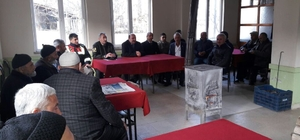 Osmaneli Kaymakamı Çakıcı, 'Kadın Çiftçilerimiz İçin Örtü Altı Sebze Yetiştiriciliği' kursunu ziyaret etti