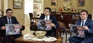 'Gümüşhane'den Halep'e yol açın' kampanyası başladı