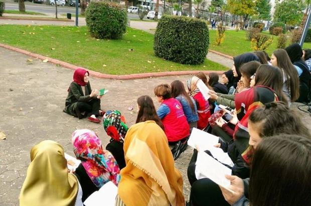 Fatsa Gençlik Merkezi'nden kitap okuma etkinlikleri