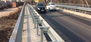 Büyükşehir tarafından yenilenen Gebze Tavşanlı'daki köprü tamamlandı