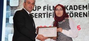 Eyüp Film Akademisi'nin başarısı ödülle tescillendi