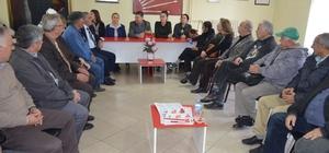 Selçuk Kent Konseyi üyelerinden CHP'ye ziyaret