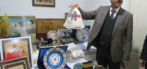 Gönderilen hediyeleri Halepliler için açık artırma ile satacak