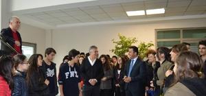Öğrenciler tekstil fabrikasını gezdi